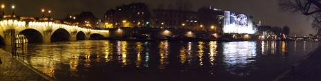 Panoramic view of Pont Neuf