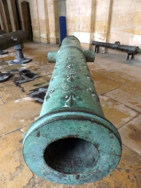 A canon at Invalides