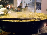 Vat of potatoes and cheese