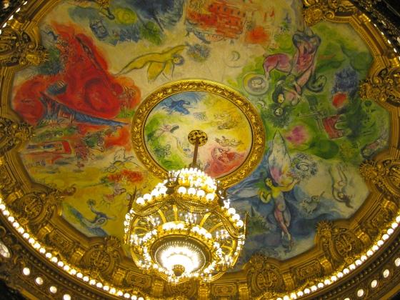 Ceiling at Opera Garnier