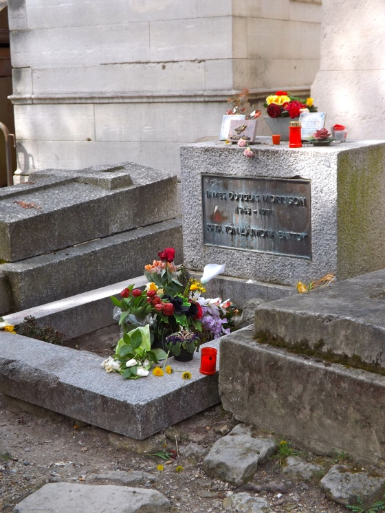 Jim Morrison tomb