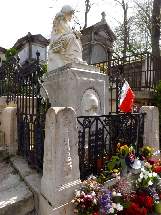 Chopin tomb