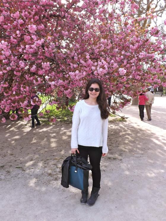 Me, springtime in Paris