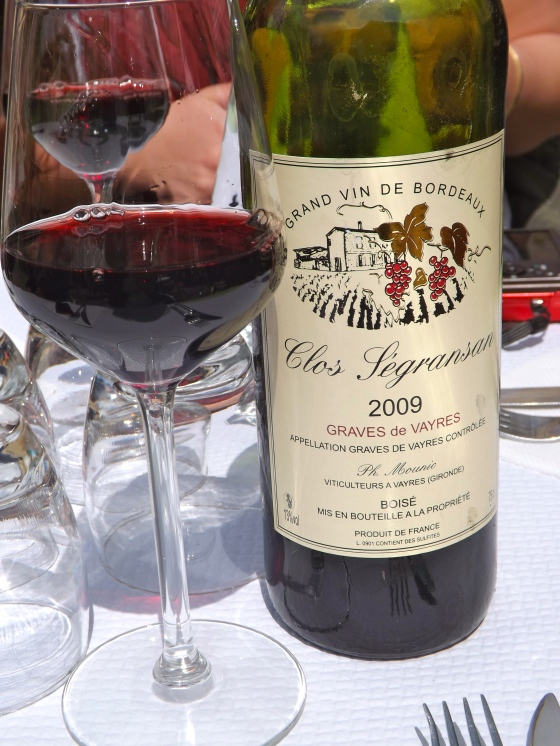 Wine at lunch