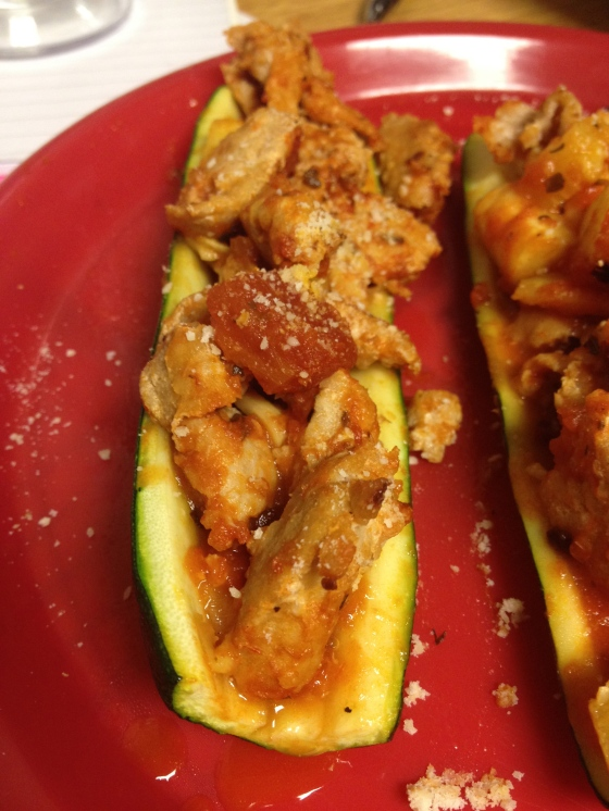 Stuffed Zucchini Boats | Netflix and Nutella