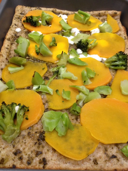 Butternut Squash and Pesto Pizza | Netflix and Nutella