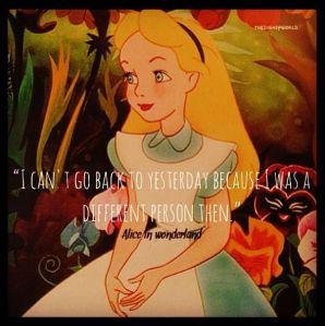 Alice in Wonderland | netflix and nutella