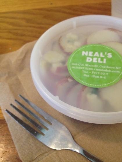 Potato Salad at Neal's Deli