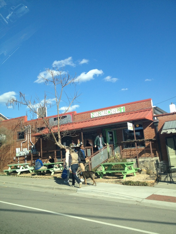 Neal's and Open Eye Cafe in Carrboro
