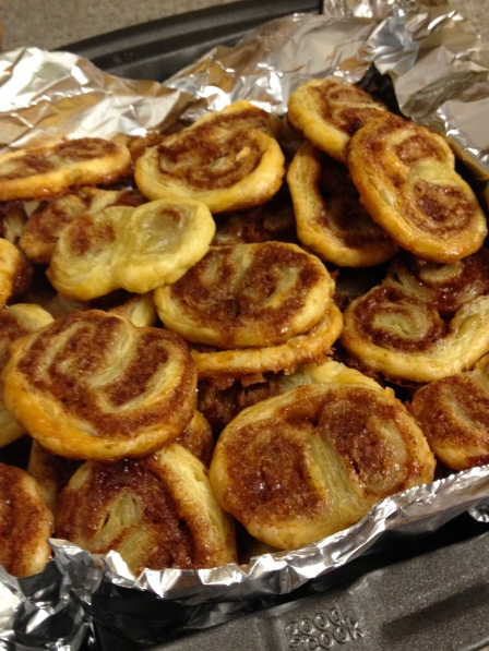 Cinnamon Palmiers | netflix & nutella