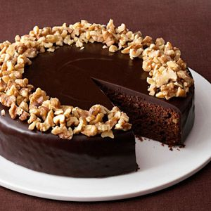 Chocolate tort with walnuts that I need to try soon