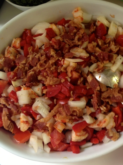 Gigi Salad | netflix & nutella