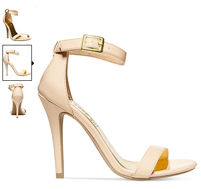 Steve Madden sandals | netflix & nutella