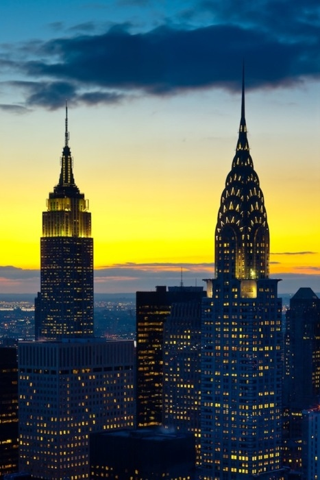 Empire State Building | netflix & nutella