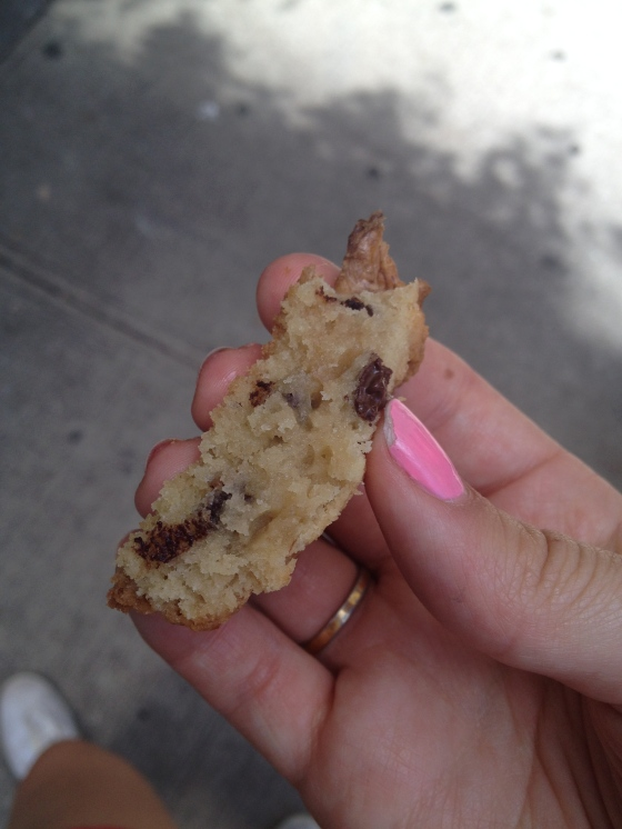 Chocolate chip walnut cookie, Levain bakery | netflix & nutella