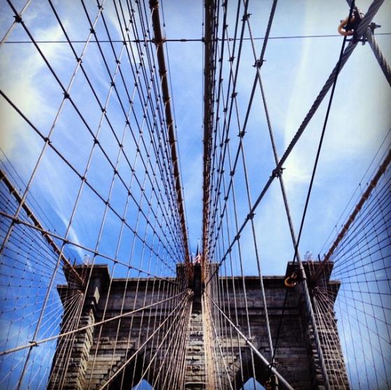 Brooklyn Bridge | netflix & nutella