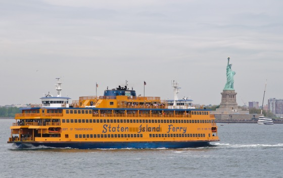 Staten Island ferry | netflix & nutella