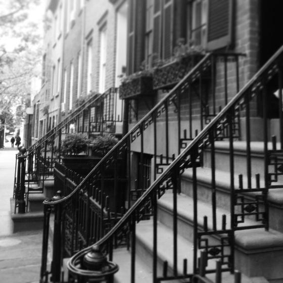 West Village stoops | netflix & nutella