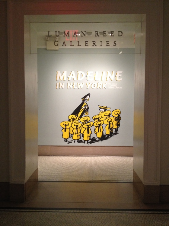 Madeline exhibit at the NY Historical Society