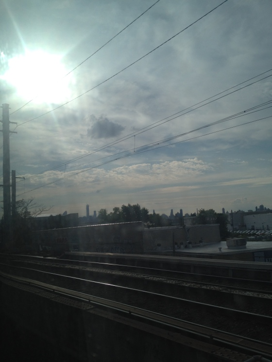 View from the LIRR